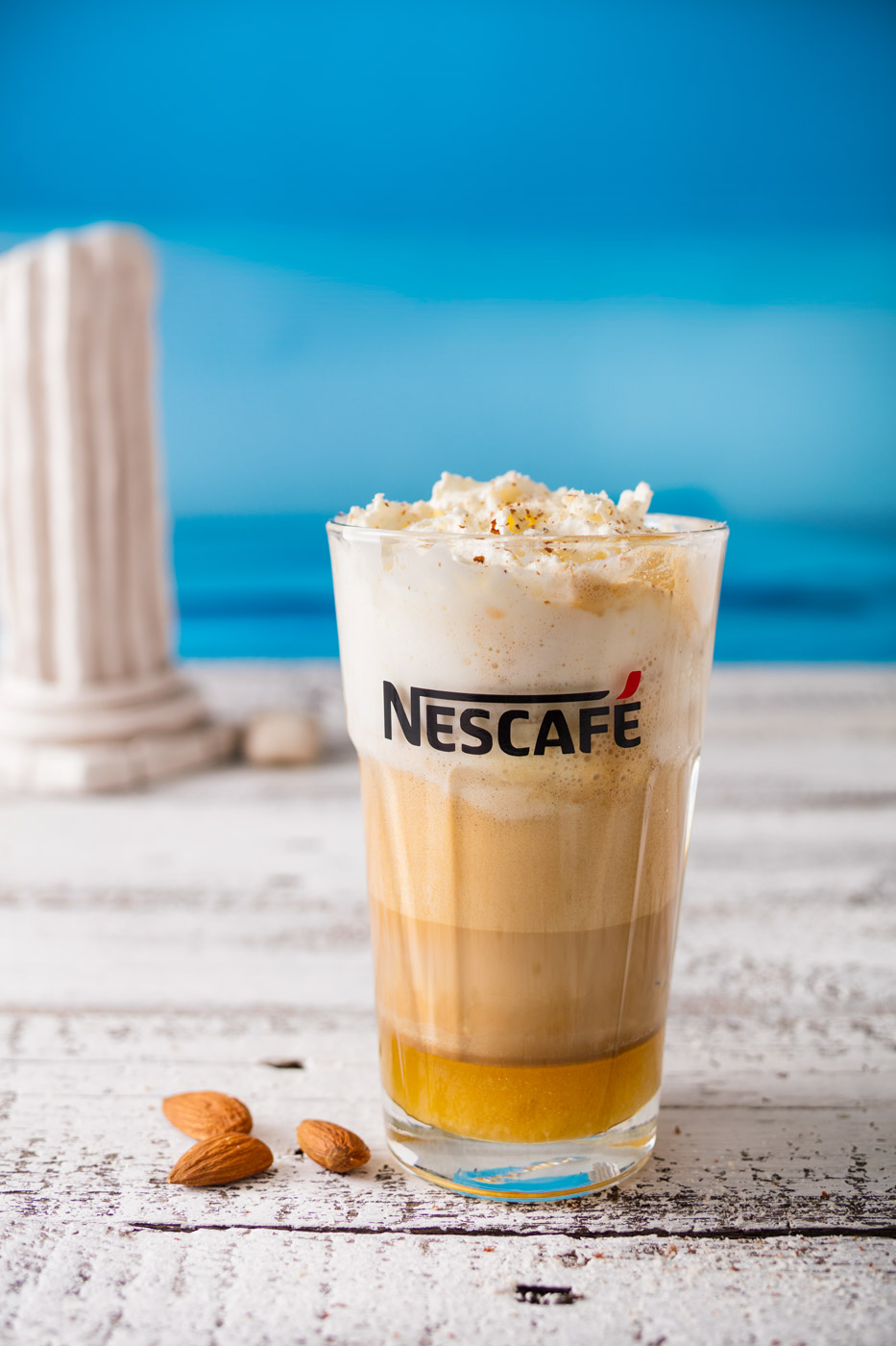 Nescafe frappe, greek style recipe
