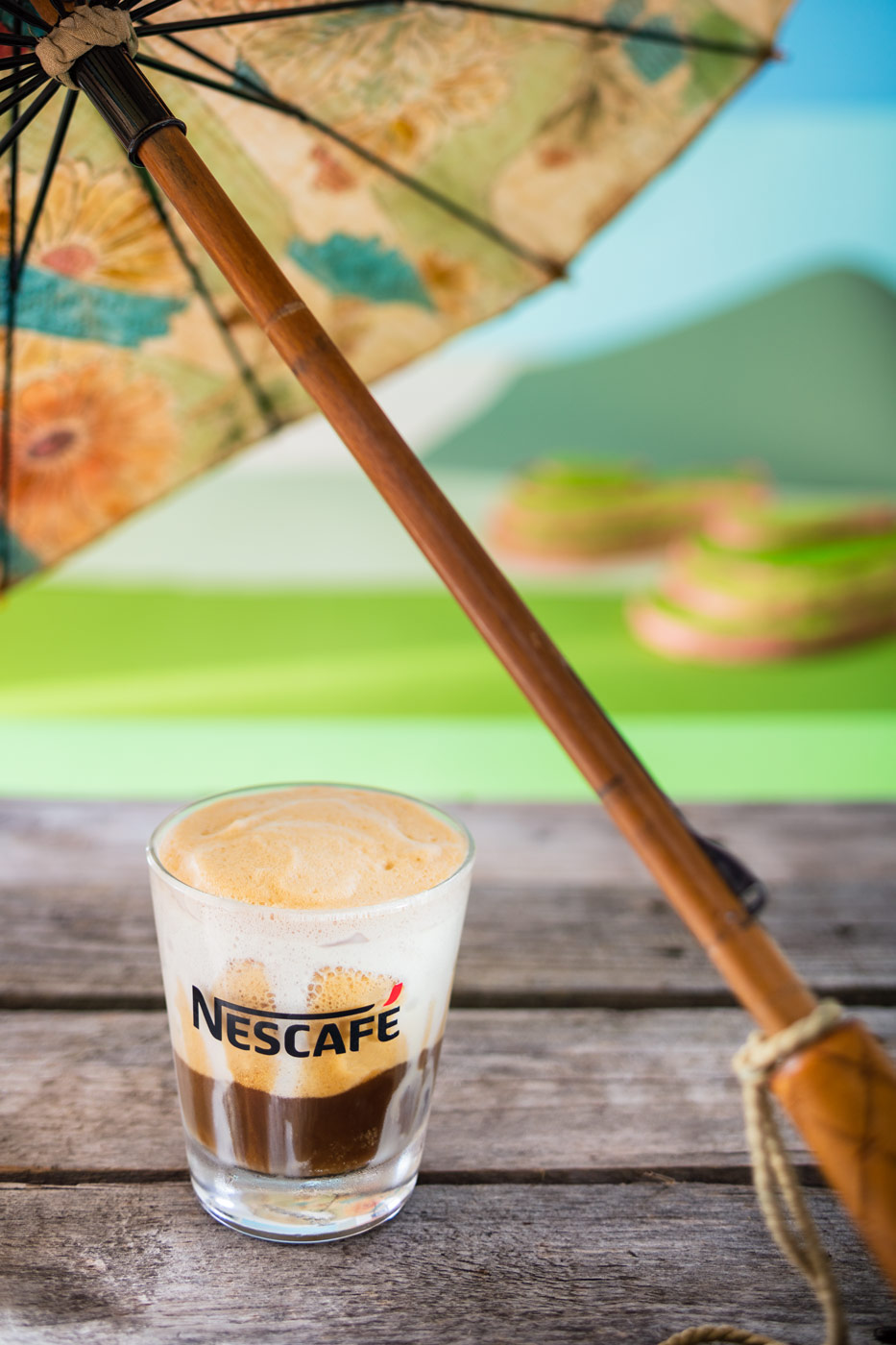 Nescafe frappe, vietnamese style recipe