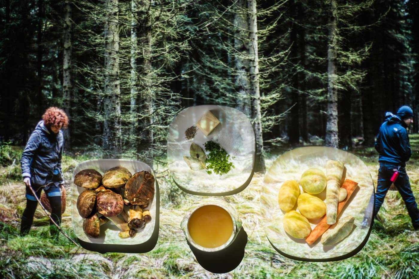 Mushroom soup step by step recipe