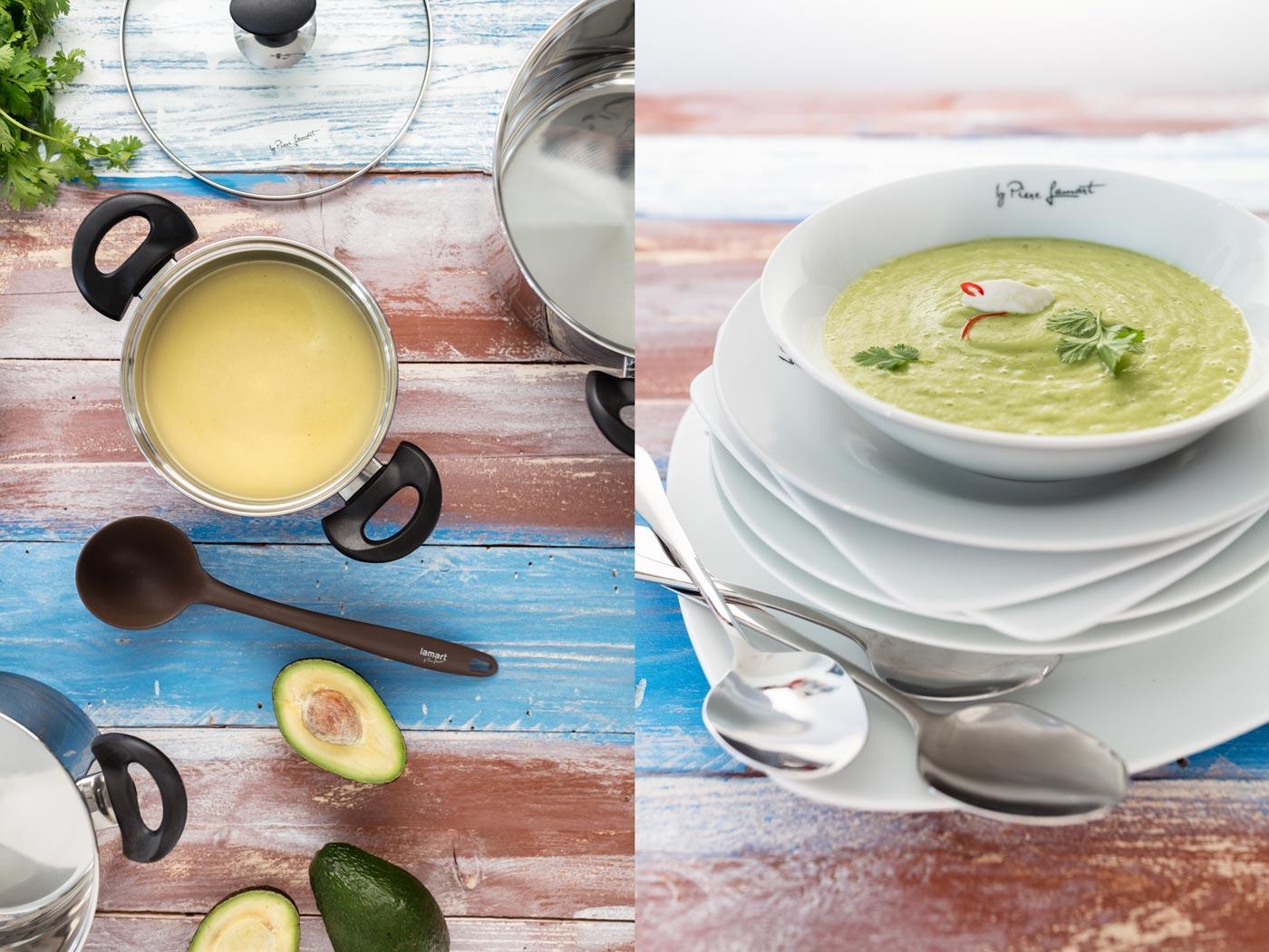 Recipe image of avocado cream soup