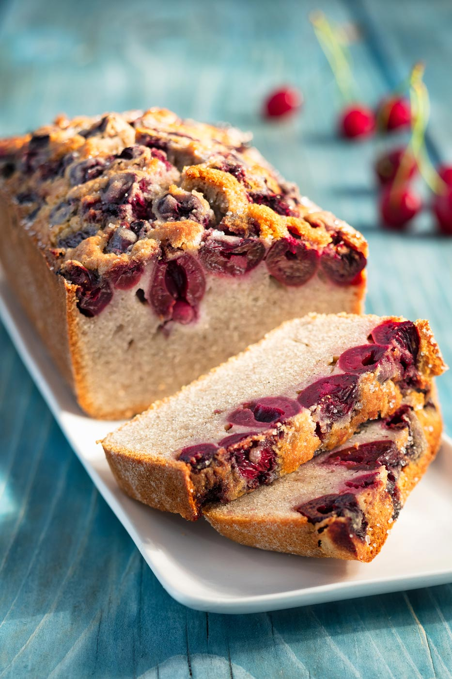 Recipe image of cherry cake