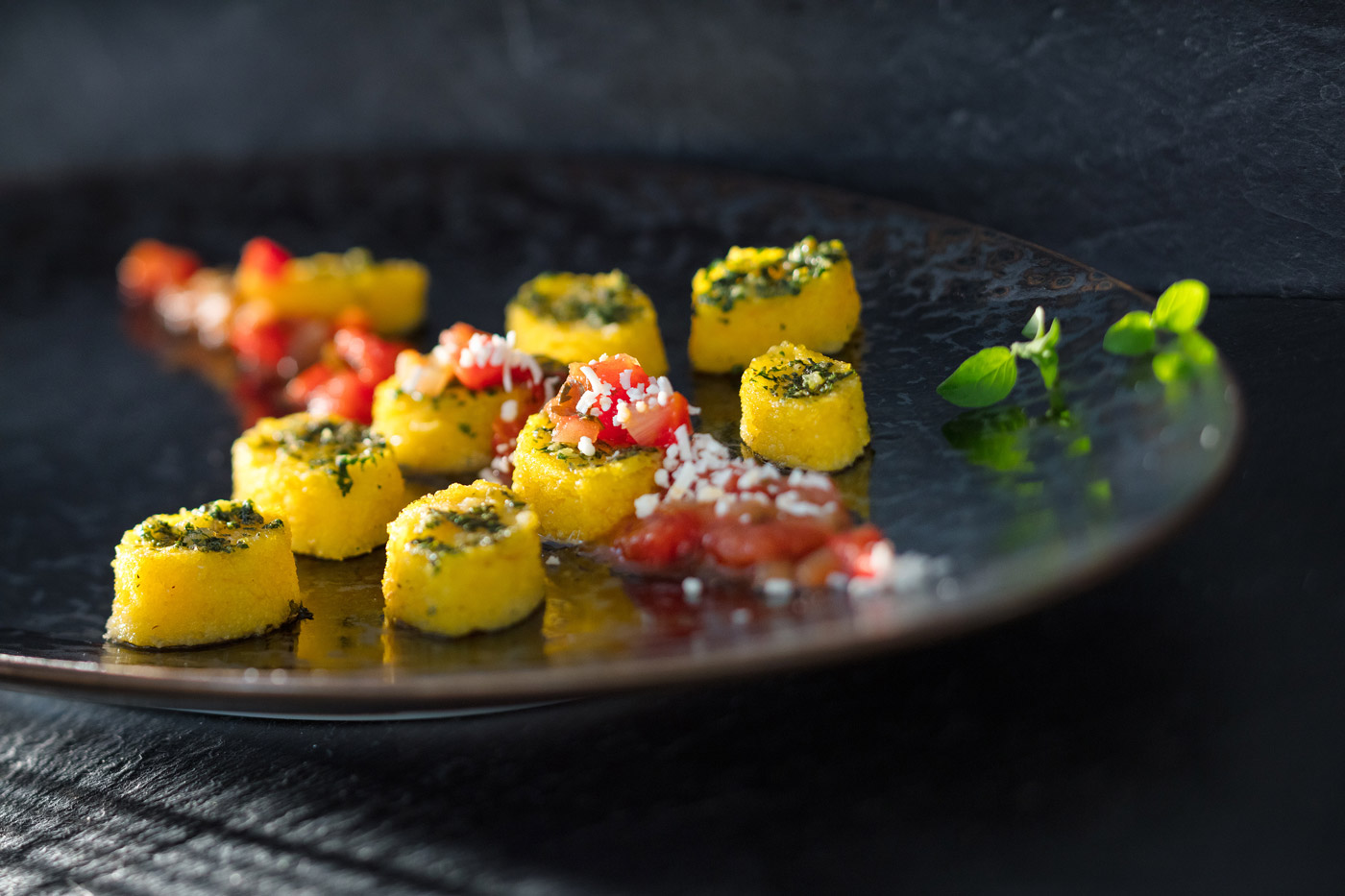 Recipe image of fried polenta