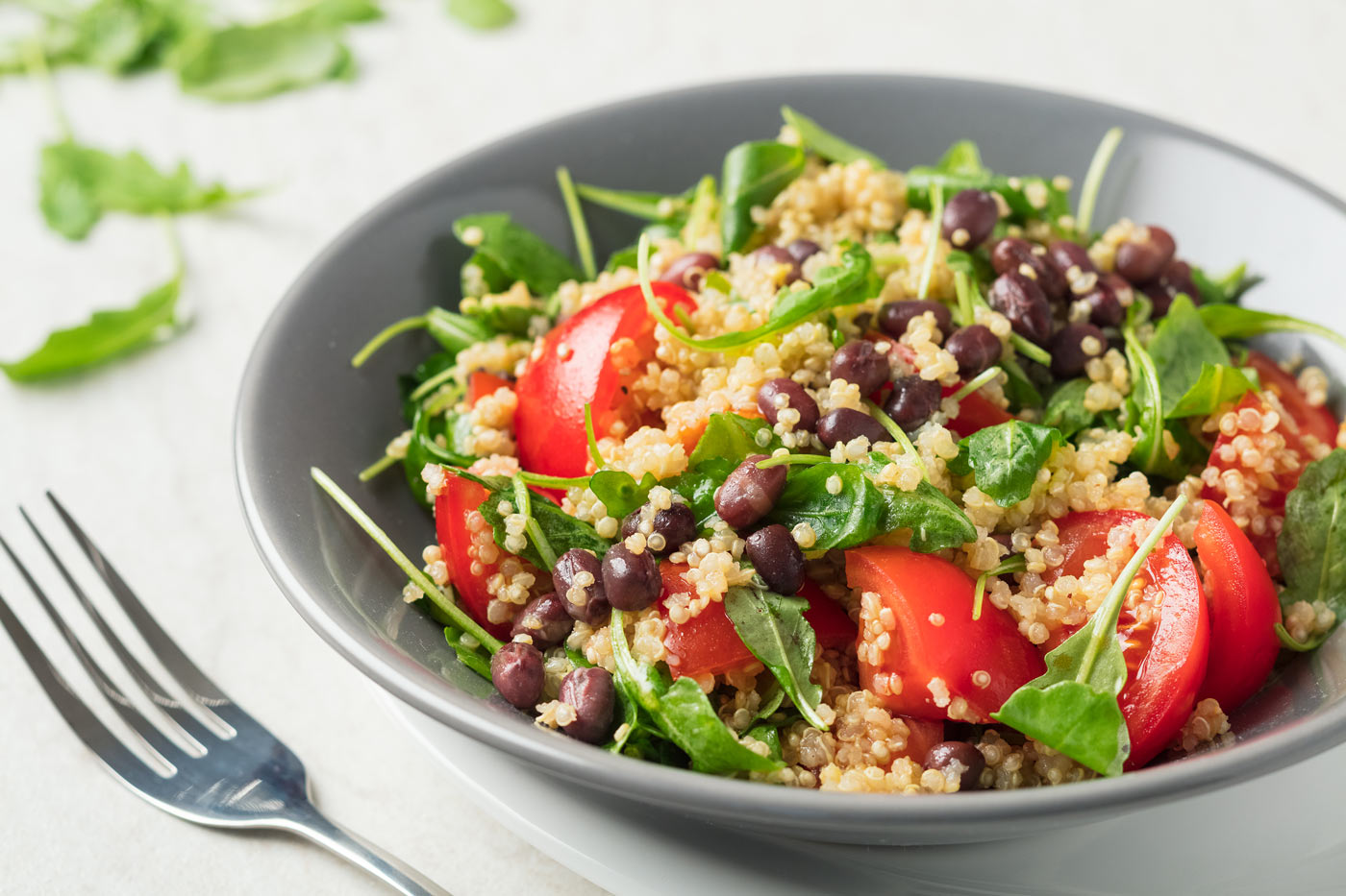 Recipe image of salad with bulgur
