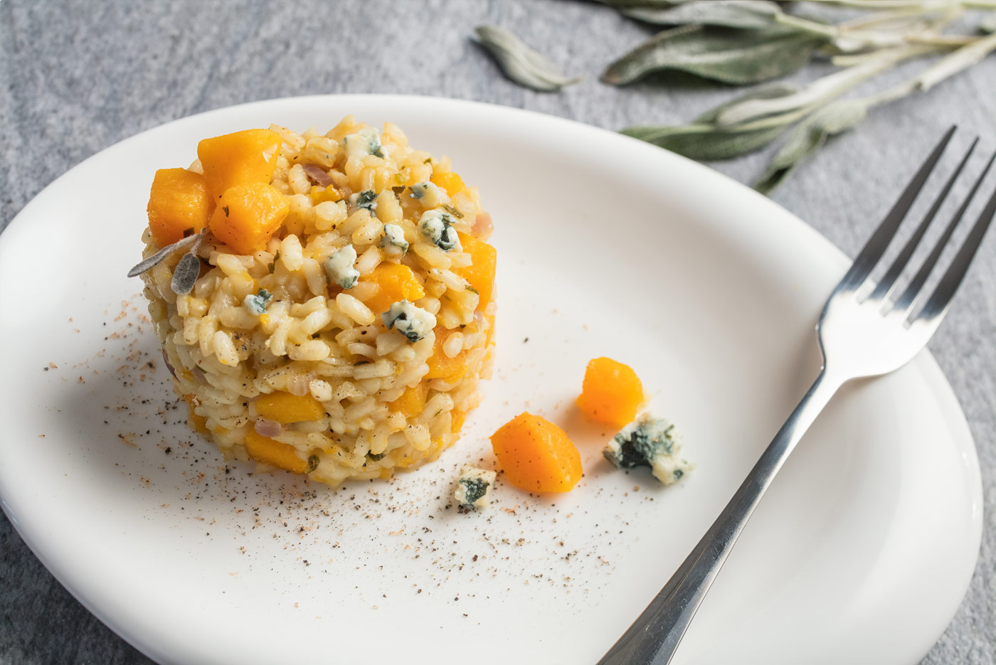 Recipe image of rice with pumpkin